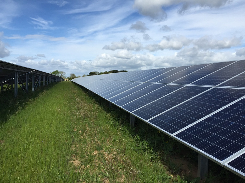 Update community solar farm to power 1 300 homes for Solar ranch